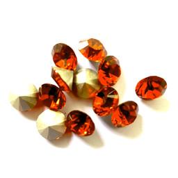 Swarovski elements Swarovski Puntsteen ss39 indian red 8,2mm