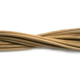Cuenta DQ leather cord 2mm petal  1 meter