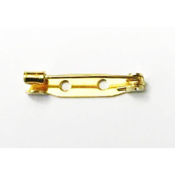 Cuenta DQ brochespeld 25mm brochespeld goudkleurig