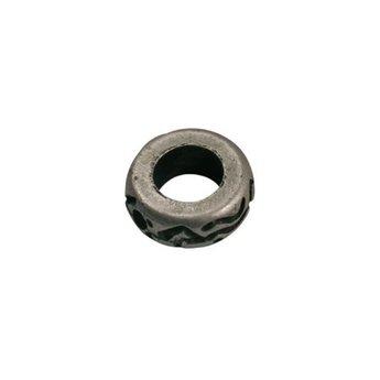 Cuenta DQ kraal ringetje 10mm met 2 gaatjes