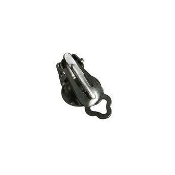 Cuenta DQ Ohrclip 10 mm clip rond hellplatin
