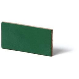 Cuenta DQ flach lederband DIY Riemen 40mm Grun 40mmx85cm