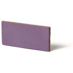 Cuenta DQ flach lederband DIY Riemen 40mm Lavendel 40mmx85cm