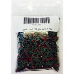 Niiniix ss6 hotfix steentjes rood light siam 50 gram