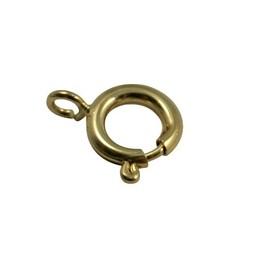 Cuenta DQ veerring sluiting 12mm goudkleurig