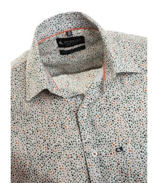 FORMEN hemd met knap floraal motief