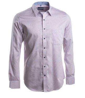 modieus slim fit hemd in knappe structuurstof