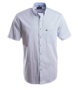 hemd met korte mouwen en sprekende print