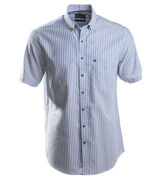 sportief gestreept hemd