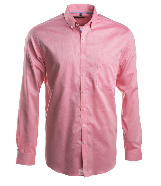 fe851341b67 koraalrood Oxford hemd met lange mouwen - Formen - Formen Hemden ...