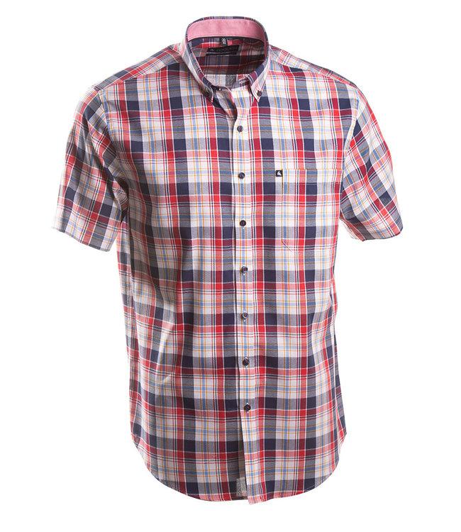 rood geruit zomers hemd