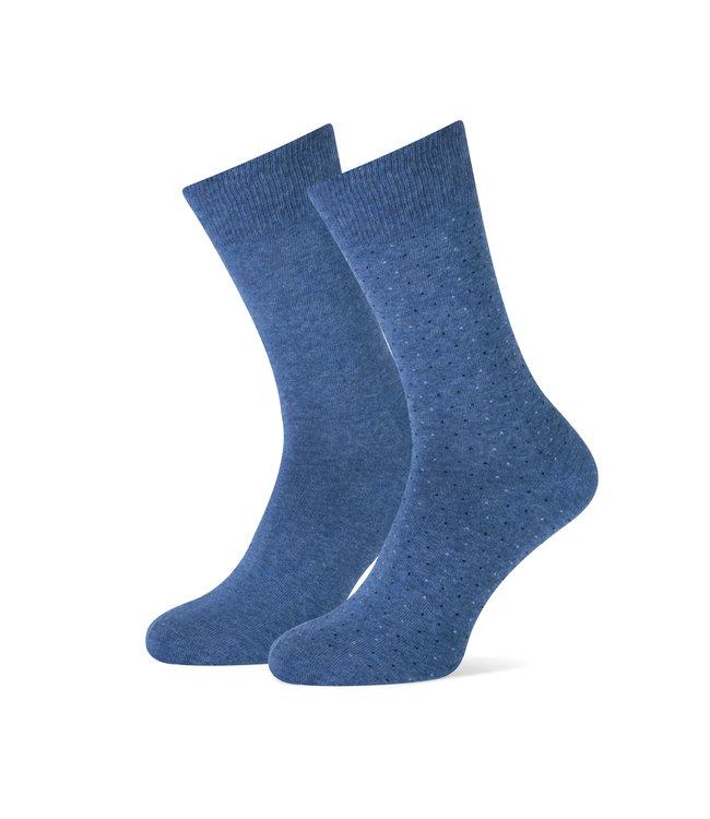 duopack sokken jeansblauw