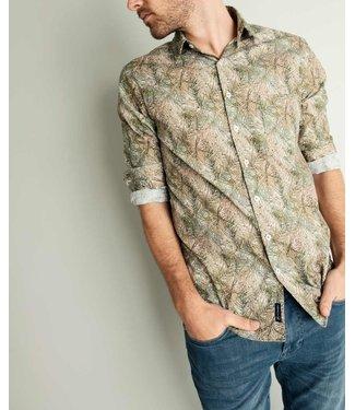 hemd met botanical print
