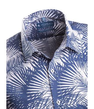 FORMEN slim fit hemd hawai look