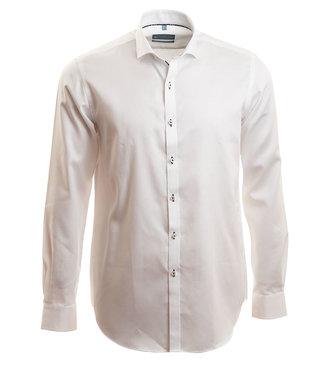 wit stijlvol hemd, slim fit