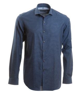 blauw business shirt, slim fit
