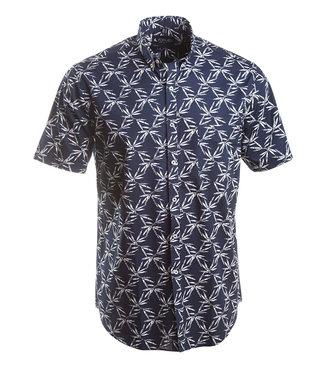 zomers hemd met hawai print