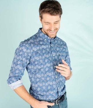 hemd met knappe all over print