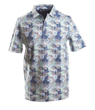 polo met hawai print