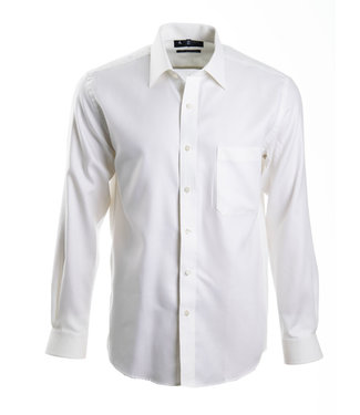 stijlvol hemd in ivoor wit