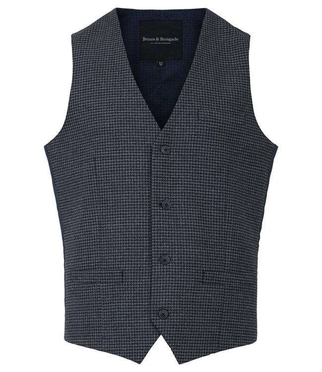 grijs jacket met kleine ruit