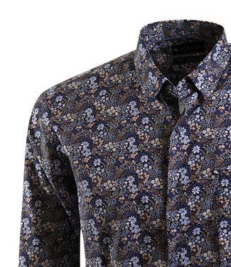 FORMEN bijzonder hemd met floraal motief