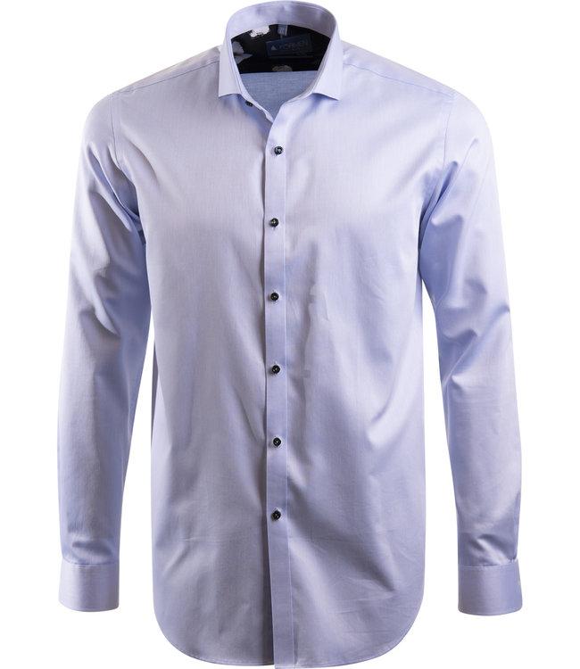 lichtblauw business hemd, slim fit