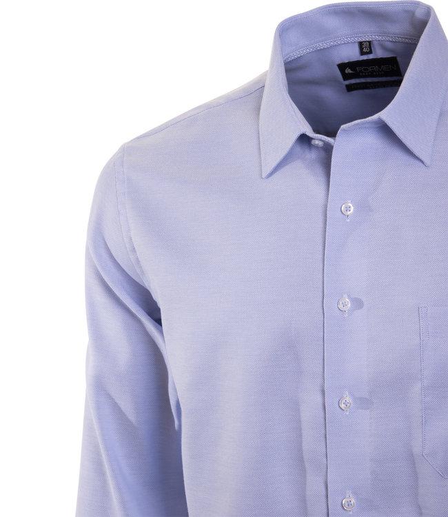 FORMEN stijlvol lichtblauw hemd