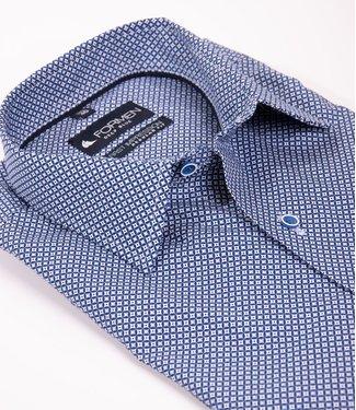 knap hemd met geometrische print