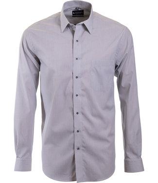 FORMEN grijs gestreept hemd