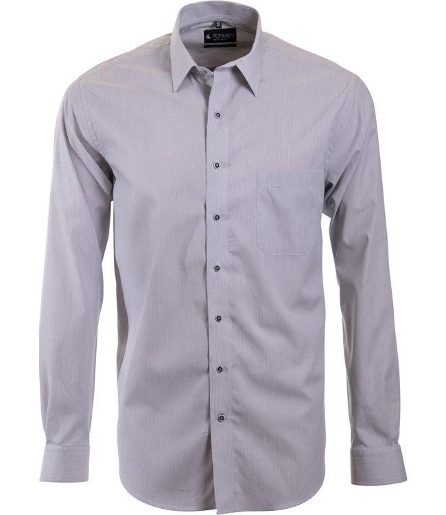 grijs gestreept hemd