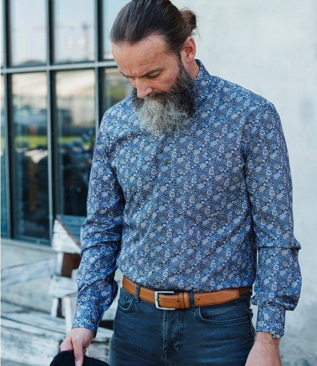 FORMEN hemd met all over print