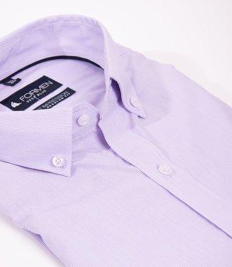 lila gestreept hemd