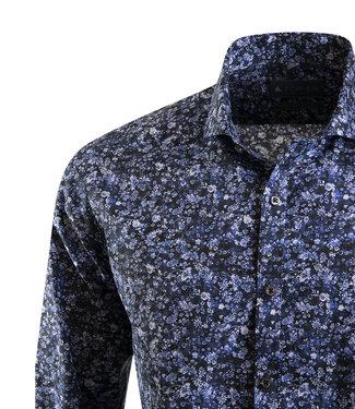 FORMEN slim fit hemd met florale print