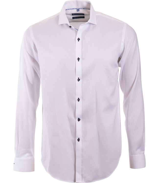 slim fit wit business shirt