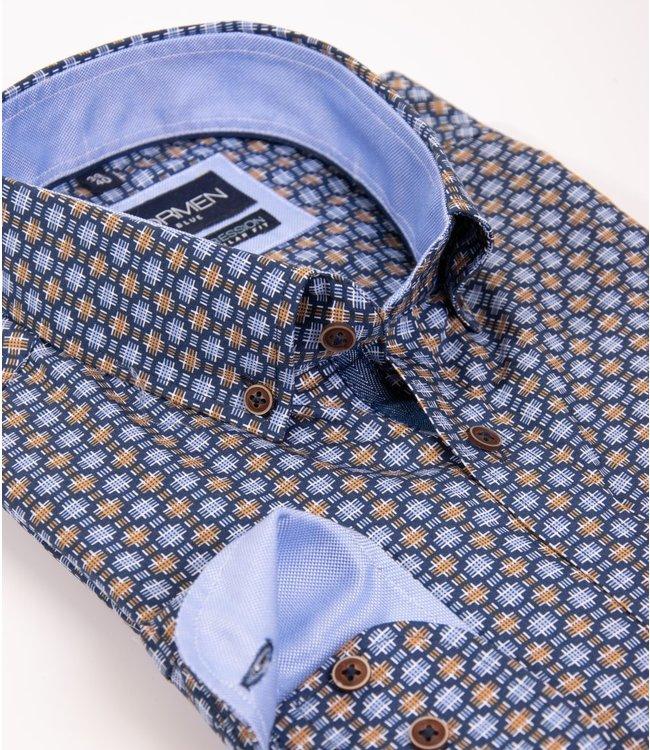 FORMEN regular hemd met aparte print