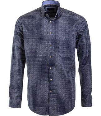 overhemd met geometrische print