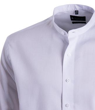 FORMEN wit hemd met Mao kraag