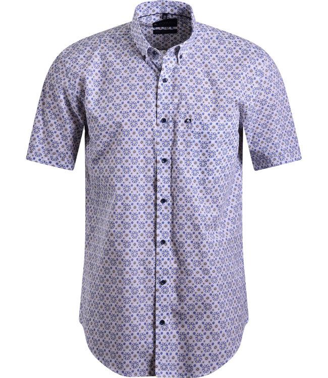 FORMEN zomers hemd met all over print