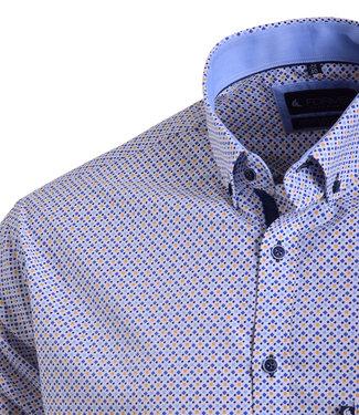 FORMEN hemd met geometrisch motief