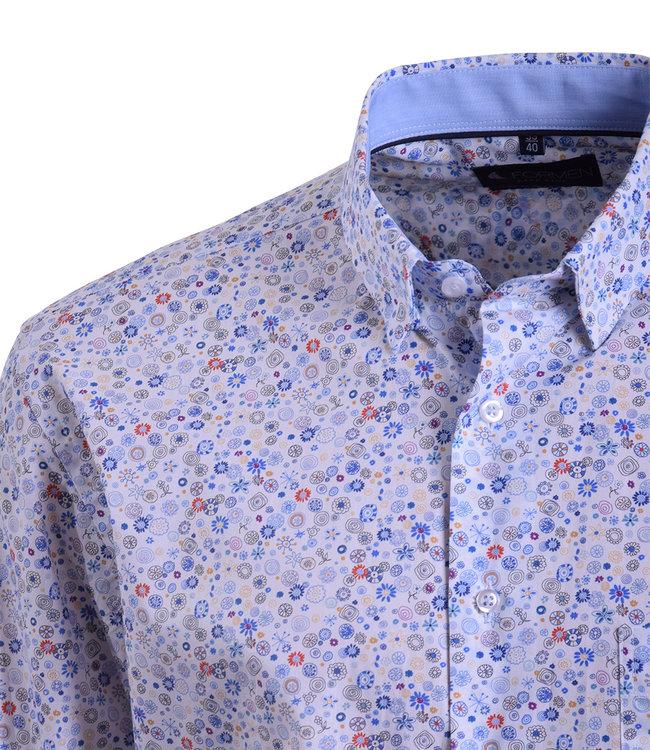 FORMEN hemd met tekening in zachte kleuren