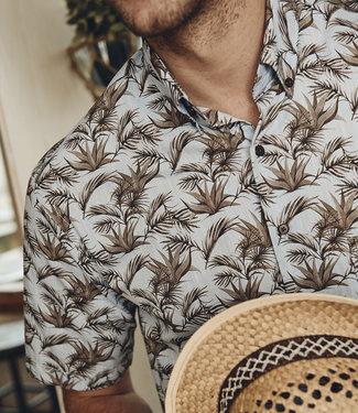 FORMEN shirt met jungle print