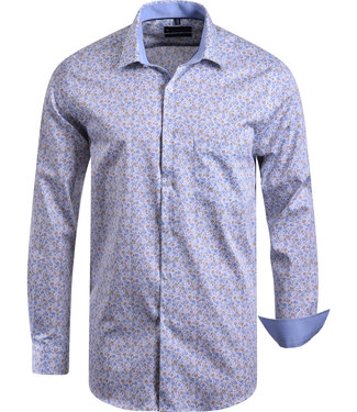 FORMEN gebloemd hemd in zachte kleuren