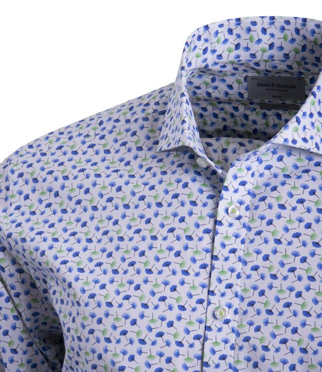 FORMEN knap hemd met frisse kleuren - SLIM
