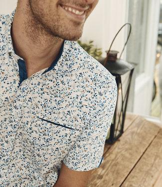FORMEN hemd met turquoise accent