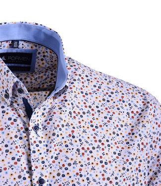 FORMEN hemd met retro bloemenprint