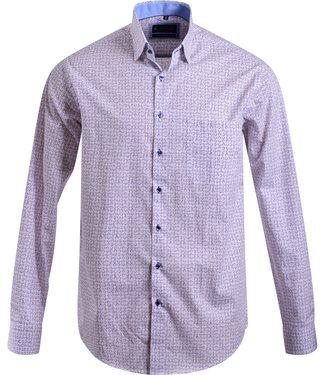 FORMEN hemd met modieuze print