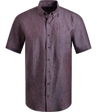 FORMEN natural bruin hemd in linnen