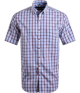 FORMEN geruit hemd in zomerse kleuren
