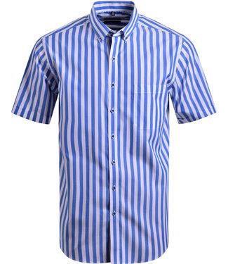 FORMEN hoogzomers hemd met brede strepen